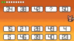 פוקסי – תרגול השלמת המספר החסר