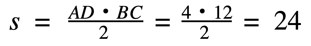 חישוב שטח משולש שווה צלעות נוסחה