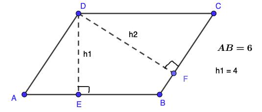 חישוב שטח מקבילית - תרגיל 1